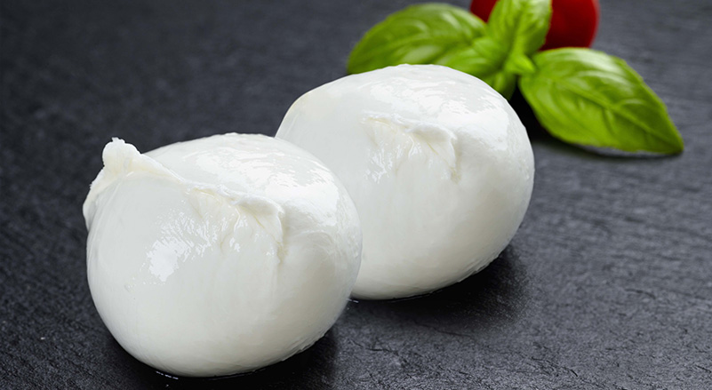 production mozzarella