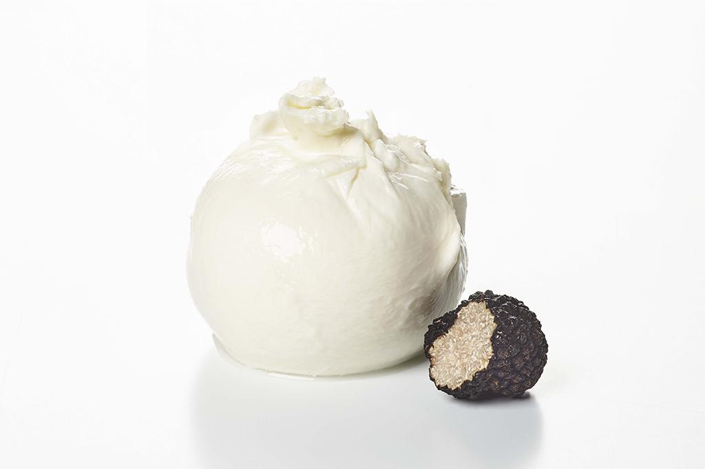 truffles burrata